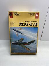Hobby Craft Canada Mikoyan Guryevich MiG-17F 1/48 Airplane Model Kit 1989