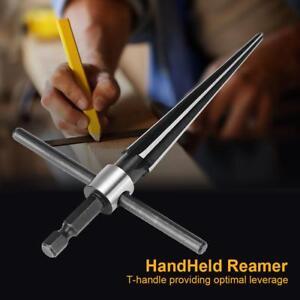 Bridge Pin Hole Handheld T Shape Tapered Hex Reamer Handle Drilling Tool new