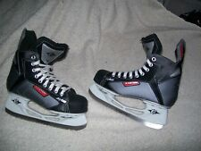 EASTON SYNERGY SYS2 ICE HOCKEY SKATES ADULT SIZE 5 USED ONLY ONE TIME FOR 30 MIN