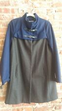 Hawke & Co. Cobalt Blue & Grey Coat MSRP $280