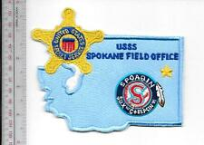 US Secret Service USSS Washington State Spokane Field Office Agent Service Patch