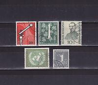 """BRD  Jahrgang  1955    """"Marken - Lot""""  gestempelt                           (4)"""