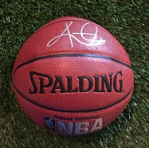 KYRIE IRVING CAVALIERS Signed NBA INDOOR/OUTDOOR Basketball JSA/COA P34430 CHAMP