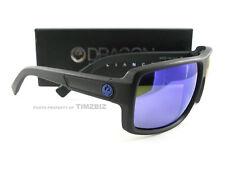 New Dragon Alliance Sunglasses Double Dos Matte H2O Blue Ion Polarized Authentic