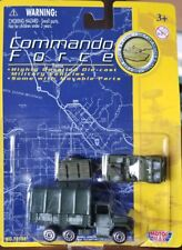 """Motormax Commando Force 3"""" UNITED STATES TROUP TRUCK AND JEEP PLATOON CAR NEW!!!"""