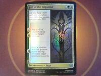 Foil Fall of the Imposter - Kaldheim - Magic the Gathering Mtg - Snow Multi