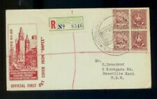 Australia. 1950. ANPEX Melbourne. First Day Registered cover to NSW