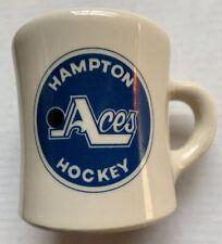 1979 - 1980 HAMPTON ACES HOCKEY TEAM DINER STYLE COFFEE MUG, EHL, HAMPTON, VA
