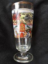Antique German Regimental Enameled Glass