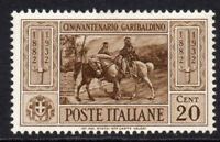 Italy 20 Cent Stamp c1932 (April) Mounted Mint Hinged (5522)