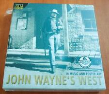 John Wayne's West - Sealed 2009 Bear Family 10 CD + 1 DVD + Book Box Set
