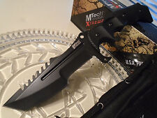 "Mtech Xtreme Military Combat Hunter Bowie Knife 5mm Full Tang G10 MX-8054 11"" OA"
