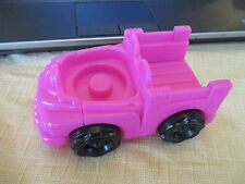 Fisher Price Chunky Little People Pink Pickup truck car farm house village city