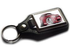 TOYOTA CAMRY Saloon Car Koolart Leather and Chrome Keyring