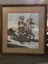 2, signed, Framed Bev Doolittle,Guardian Spirits A/P 26/50, Camouflage Art
