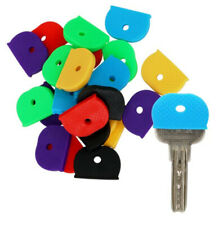 KEY CAP CAPS COVERS TAGS ID MARKERS KEY RING ROUND RINGS