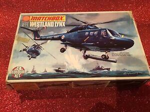 MATCHBOX 1/72 WESTLAND LYNX (INCOMPLETE )