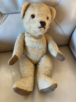 Vintage Teddy Bear 1940s Golden Mohair Moving Arms Legs Head Growler 1950s Old