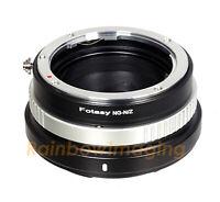 Nikon G AF-S F Mount Lens to Nikon z50 Z6 Z7 Adapter Aperture Control US Seller