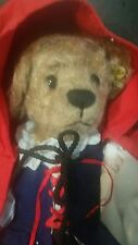"Little Red Riding Hood 12"" Bear by Annette Funicello Collectable Bear Company