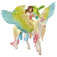 Schleich Bayala Fairy Surah with Glitter Pegasus Collectable Figure 70566 NEW
