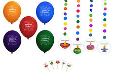 Diwali Holiday Party Supplies (Diwali Lamps Design Party Pack) USA FAST SHIPPING