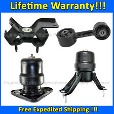 0143 Motor & Trans Mount 4pc Set for 1992-1996 Toyota Camry 2.2L w/ AUTO Trans.