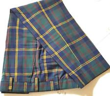 USMC Tartan Trousers Strathmore Wool Plaid Scotland 36 X 29.5 Pants Golf