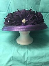 Kentucky Derby; Church Hat; Mother's Day Best; Purple; KaKyCo; New