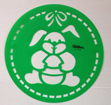 Easter Bunny Cake Stencil from Wilton #1218