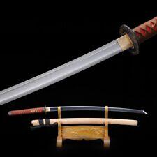 Katana, Damascus Steel Handmade Full Tang Real Japanese Samurai Swords