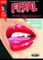 Feral #1 - International issue - BW Horror Comic - english- NEUWARE