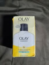 OLAY Complete All Day Moisturizer SPF 15, Sensitive 6oz LOT OF 3!!! EXP:04/2022