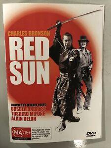 RED SUN DVD Charles BRONSON Ursula ANDRESS Toshiro MIFUNE Alain DELON Western