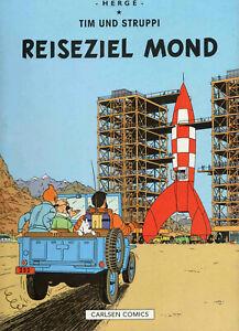 Tim und Struppi von Hergé * Farbfaksimile * Band 15: Reiseziel Mond * Z1