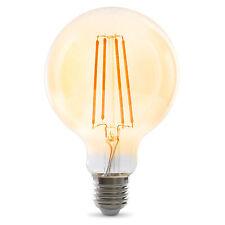 LED Filament Lampe G95 E27 | gold getönt | 3.5W 320lm 2100K | lange Filamente