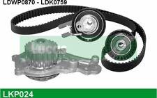 LUCAS Zahnriemensatz mit Wasserpumpe für FORD FIESTA FUSION CITROEN C3 LKP024