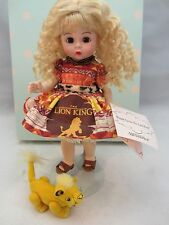 "Madame Alexander Doll WENDY LOVES THE LION KING 8"" 2005"