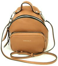 Coccinelle Cross Body Bag in Mini Backpack Style Brown Leather Handbag RRP £270