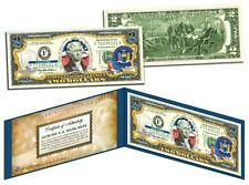 NEW YORK Statehood $2 Two-Dollar Colorized U.S. Bill NY State *Legal Tender*