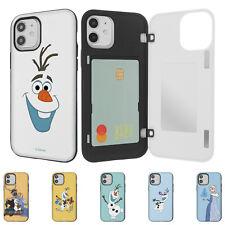 DISNEY Frozen Olaf Door Bumper Cover for iPhone 12 11 Pro XS Max mini XR SE Case