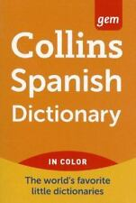 Collins Gem Spanish Dictionary, 9e: By HarperCollins Publishers Ltd.
