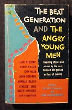 1959 THE BEAT GENERATION Angry Young Men VG+ 4.5 1st Dell Paperback Kerouac