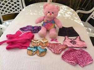 Build a Bear Workshop Beach Dreams Collection Teddy Bundle Job Lot