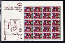 Sheet Liechtenstein Stamps