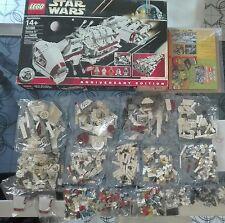 Lego 10198 Tantive IV 4 Star Wars no UCS Lucas Alderan Minifigure Leia