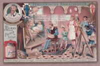 Allegri The Correge Painting The Holy Night  Nuit Sante 1903 Trade Ad  Card