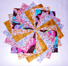 """40 5"""" Quilting Fabric Squares Beautiful Butterflies and Dragonflies 4 !!!!!"""
