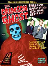 CRIMSON GHOST Cliffhanger Serial LINDA STIRLING DVD 2 Disc Set