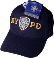 NYPD Baseball Cap Hat Licensed By The New York City Police Department